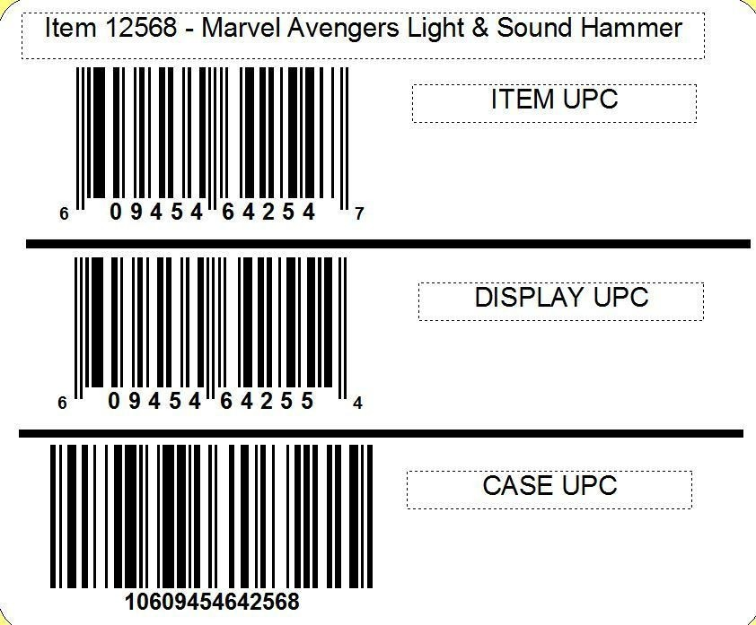 Marvel Avengers Light & Sound Hammer