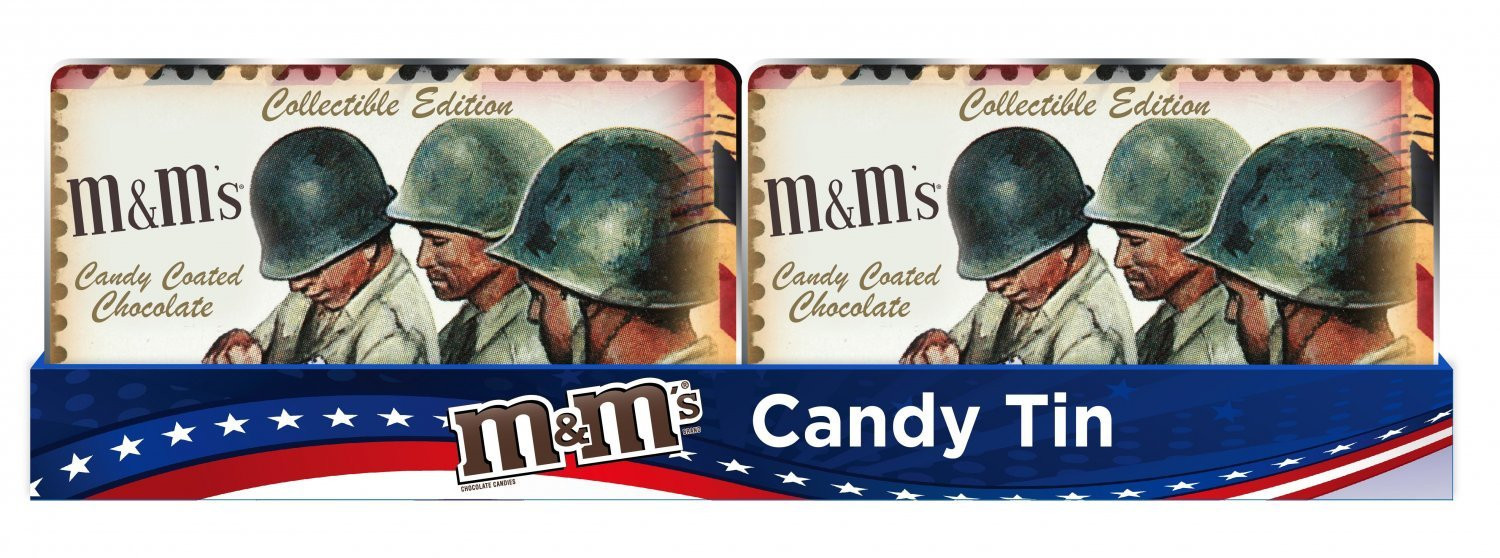 M&M's M&M'S® Soldier/Nostalgic Military Tin