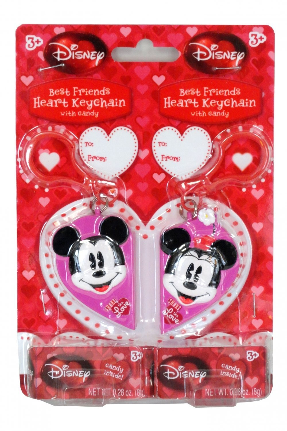 "Disney ©Disney ""Best Friends Forever"" Keychain with candy"