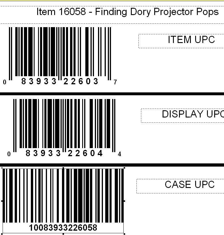 Disney Finding Dory Projector Pop