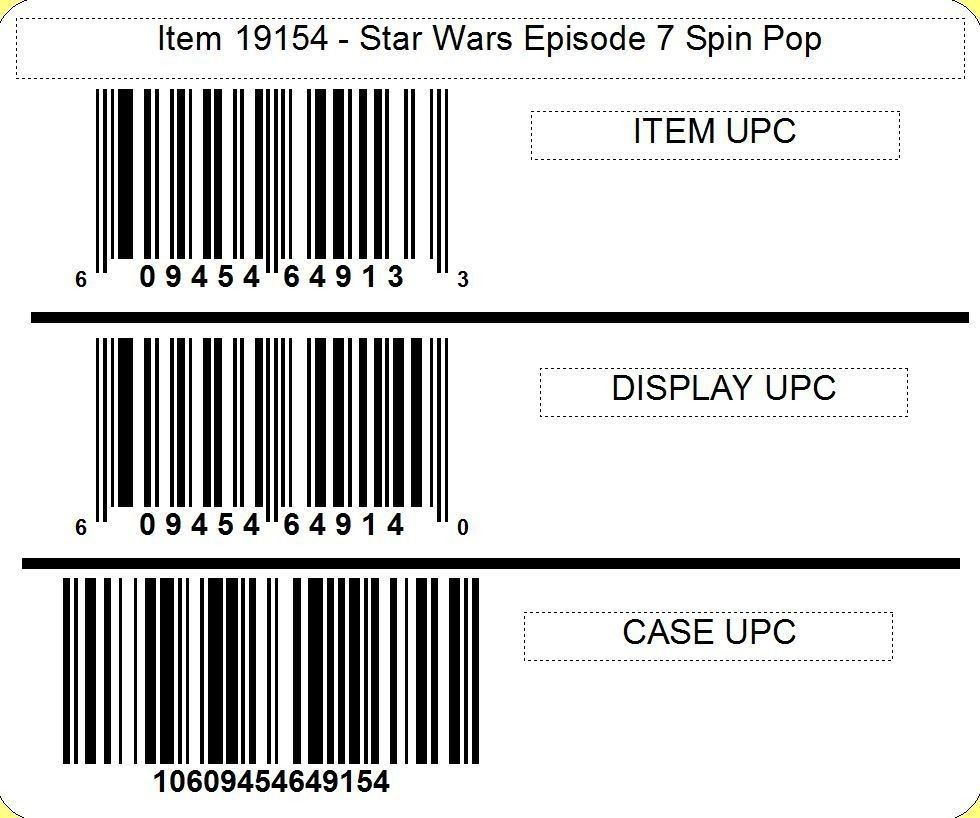 Star Wars Star Wars™ Episode 7 Spin Pop