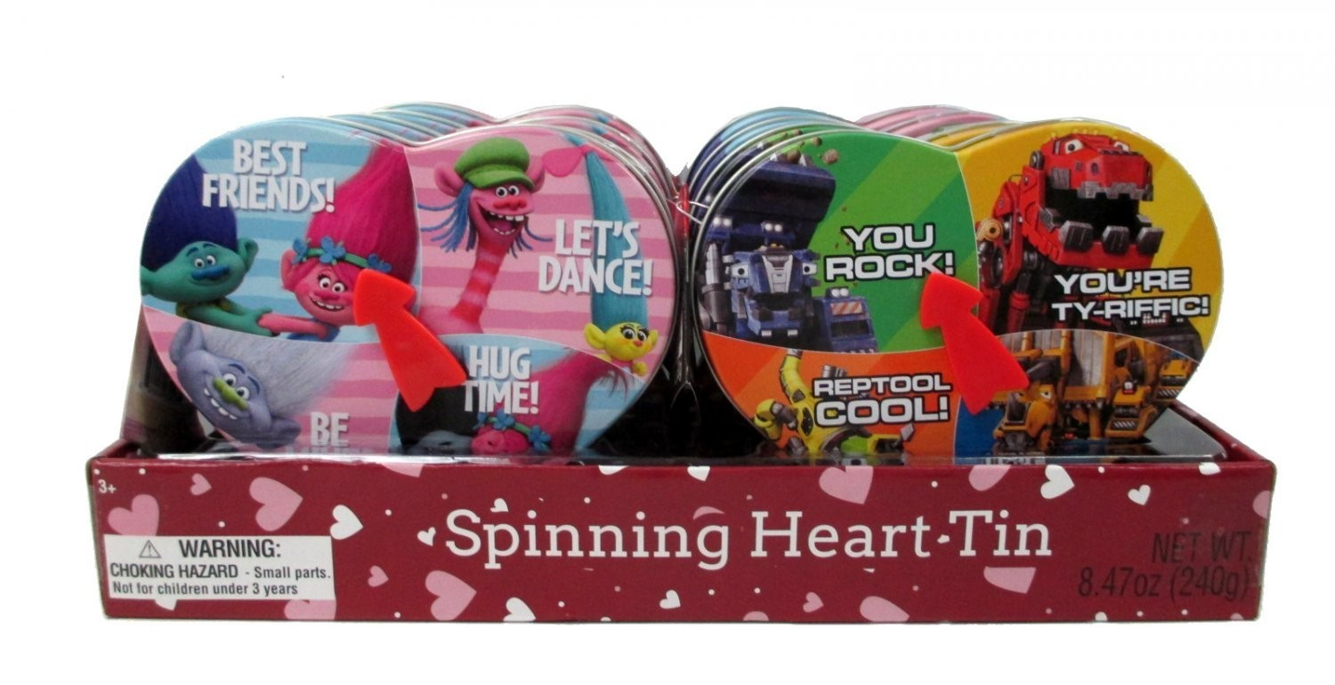 Disney Valentine Spinning Tin Combo Case