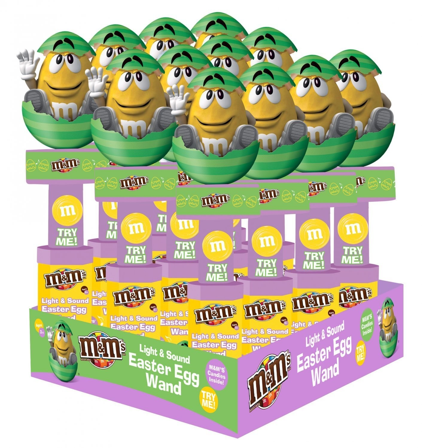 M&M's M&M'S® Easter Light & Sound Wand