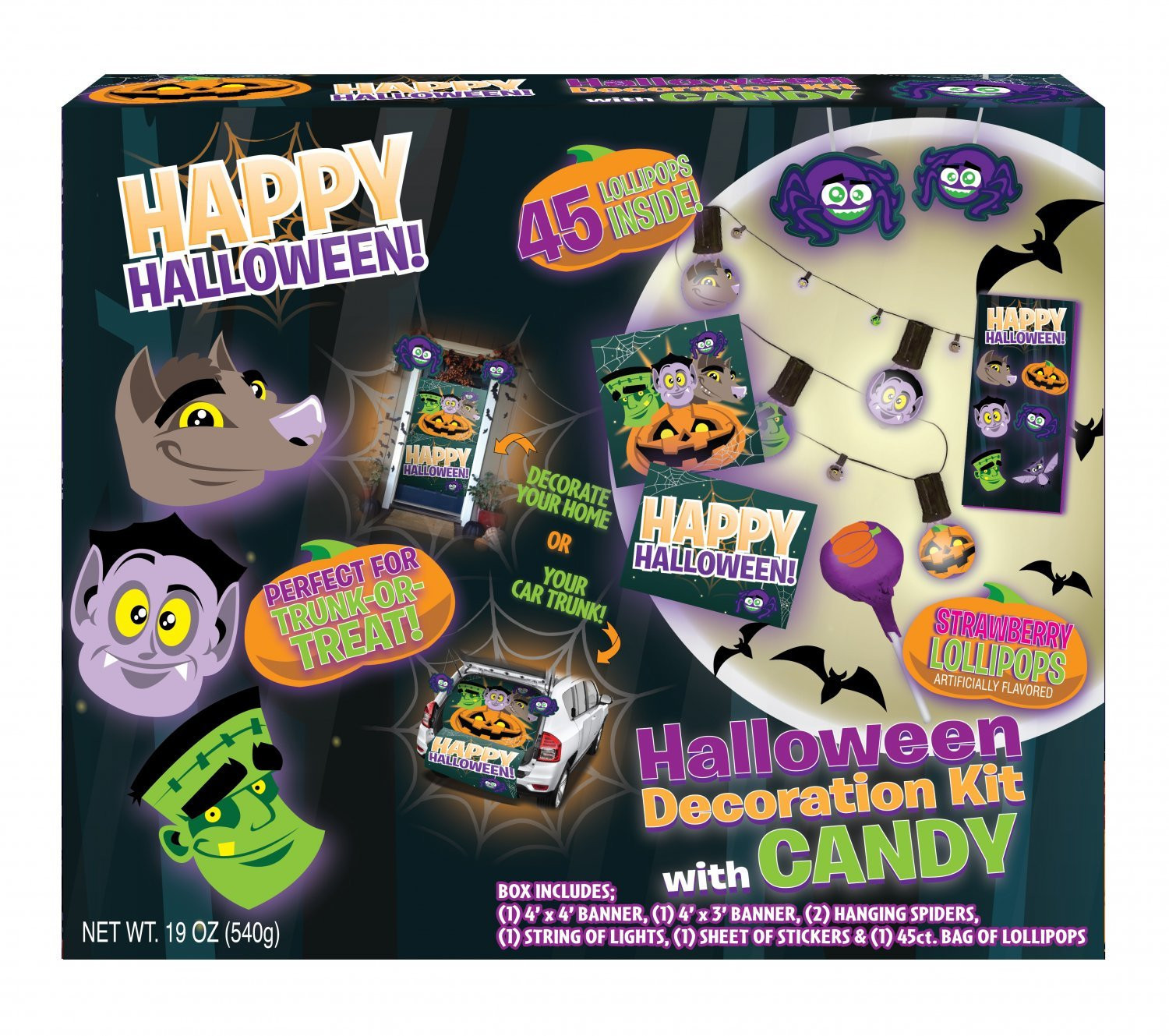 CandyRific  Trunk or Treat Decoration Kit