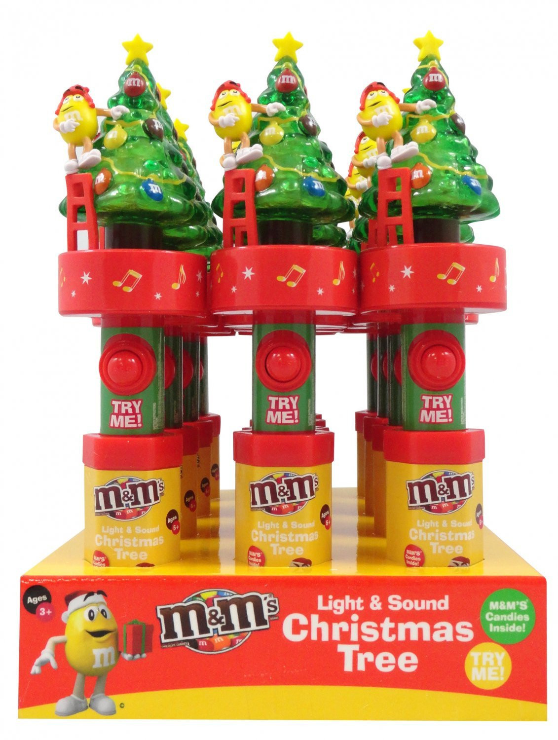 M&M's M&M'S® Light & Sound Christmas Tree