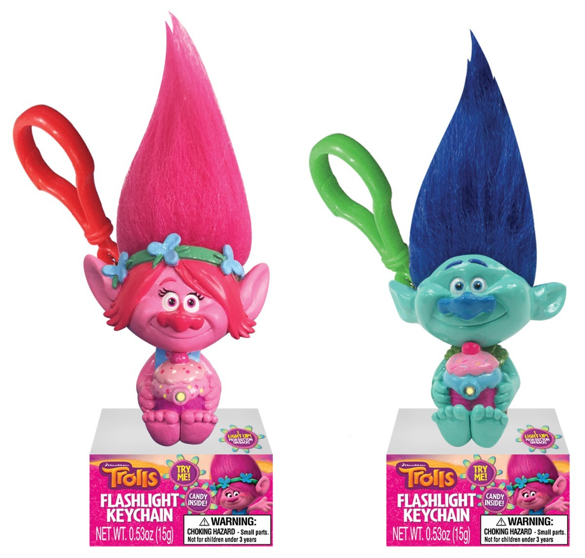 Dreamworks Trolls Character Flashlight