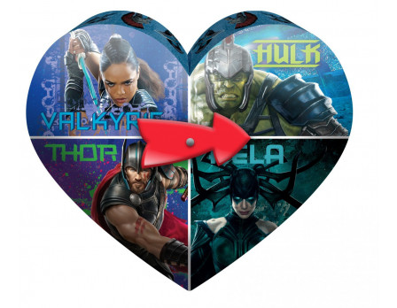Marvel Disney & Marvel Valentine Spinning Tins