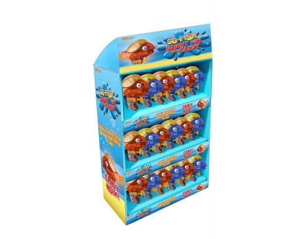 CandyRific  Go Fish Squirt Fun Display Panel