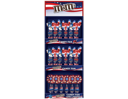 M&M's M&M'S ® Red, White & Blue Display Panel
