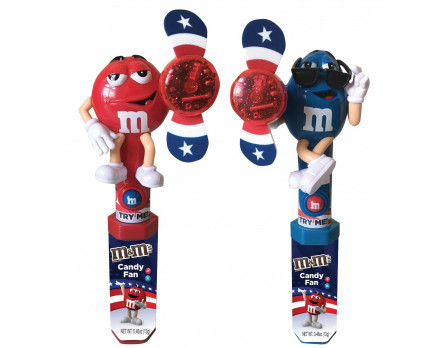 M&M'S ® Red, White & Blue Character Fan