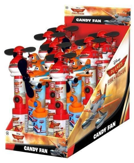 Disney ©Disney Planes 2: Fire & Rescue Fan with candy