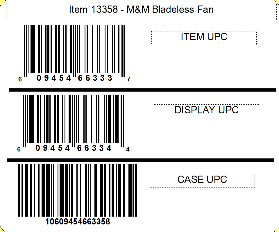 M&M's M&M'S® Bladeless Fan