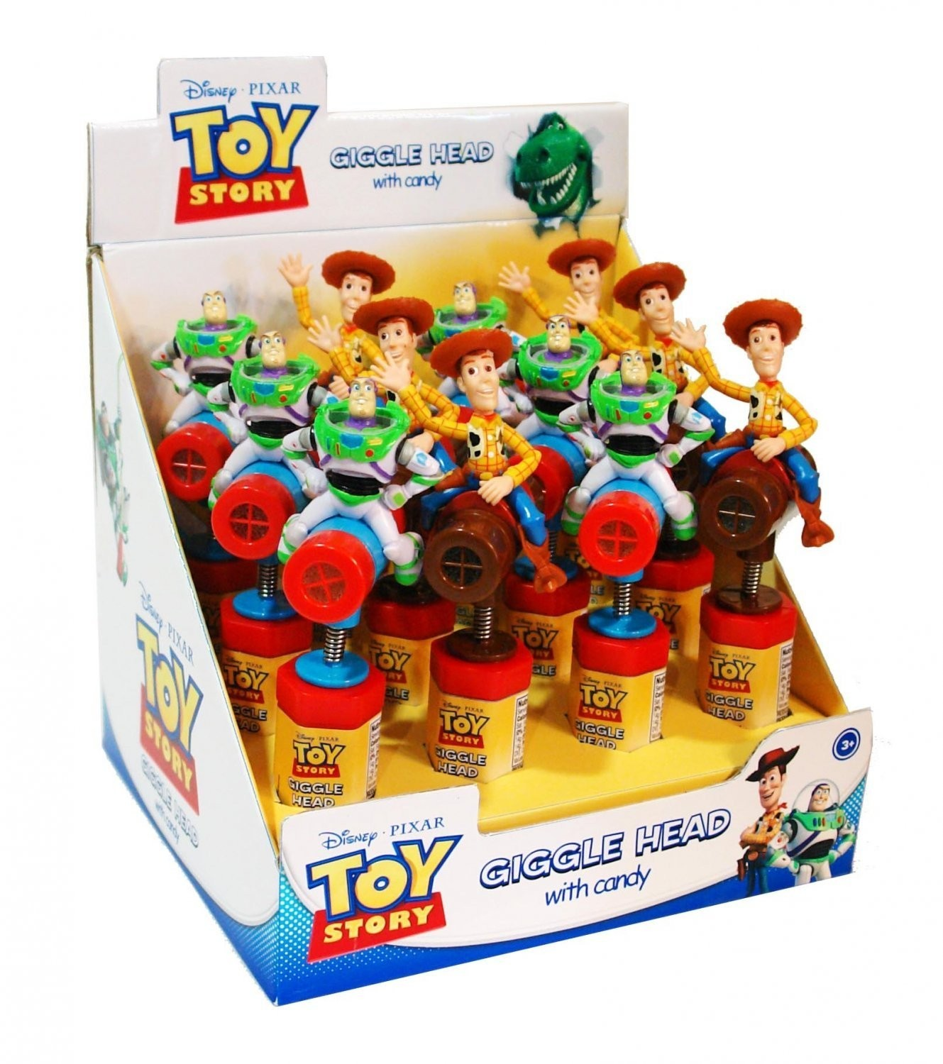 Disney ©Disney•Pixar Toy Story Giggle Head with candy