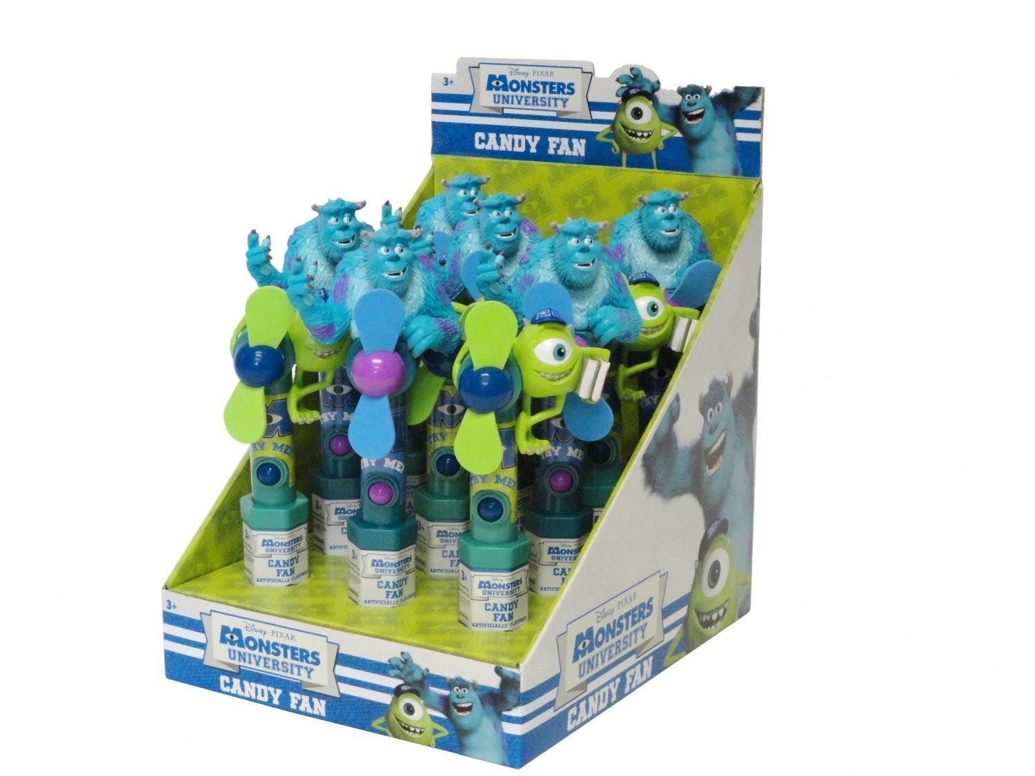 Disney ©Disney•Pixar Monsters University Character Fan with candy