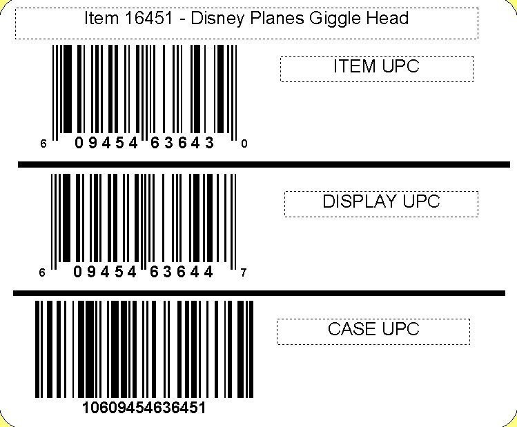 Disney ©Disney•Pixar Planes Giggle Head with candy