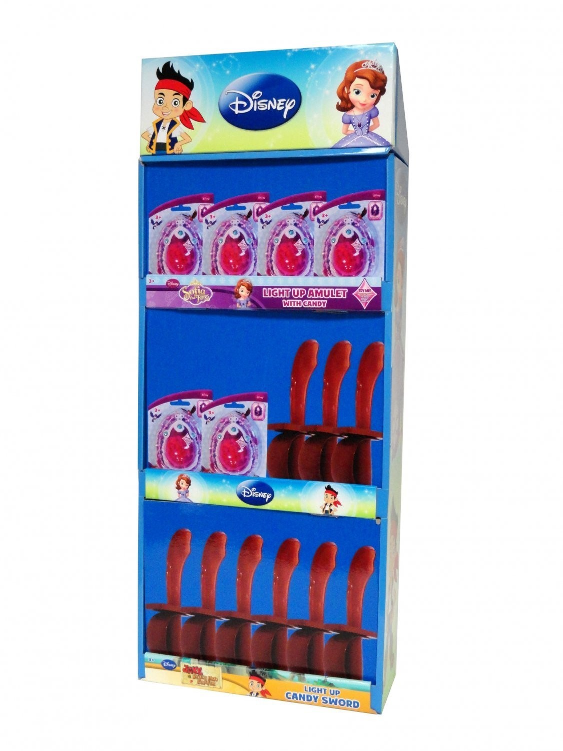 Disney ©Disney Jake & Sofia Display Panel with candy