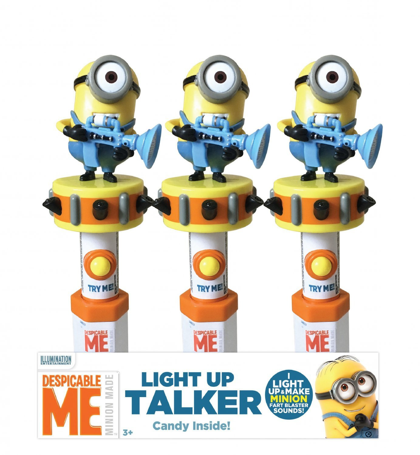 Minions Despicable Me 3 Light & Sound Talker
