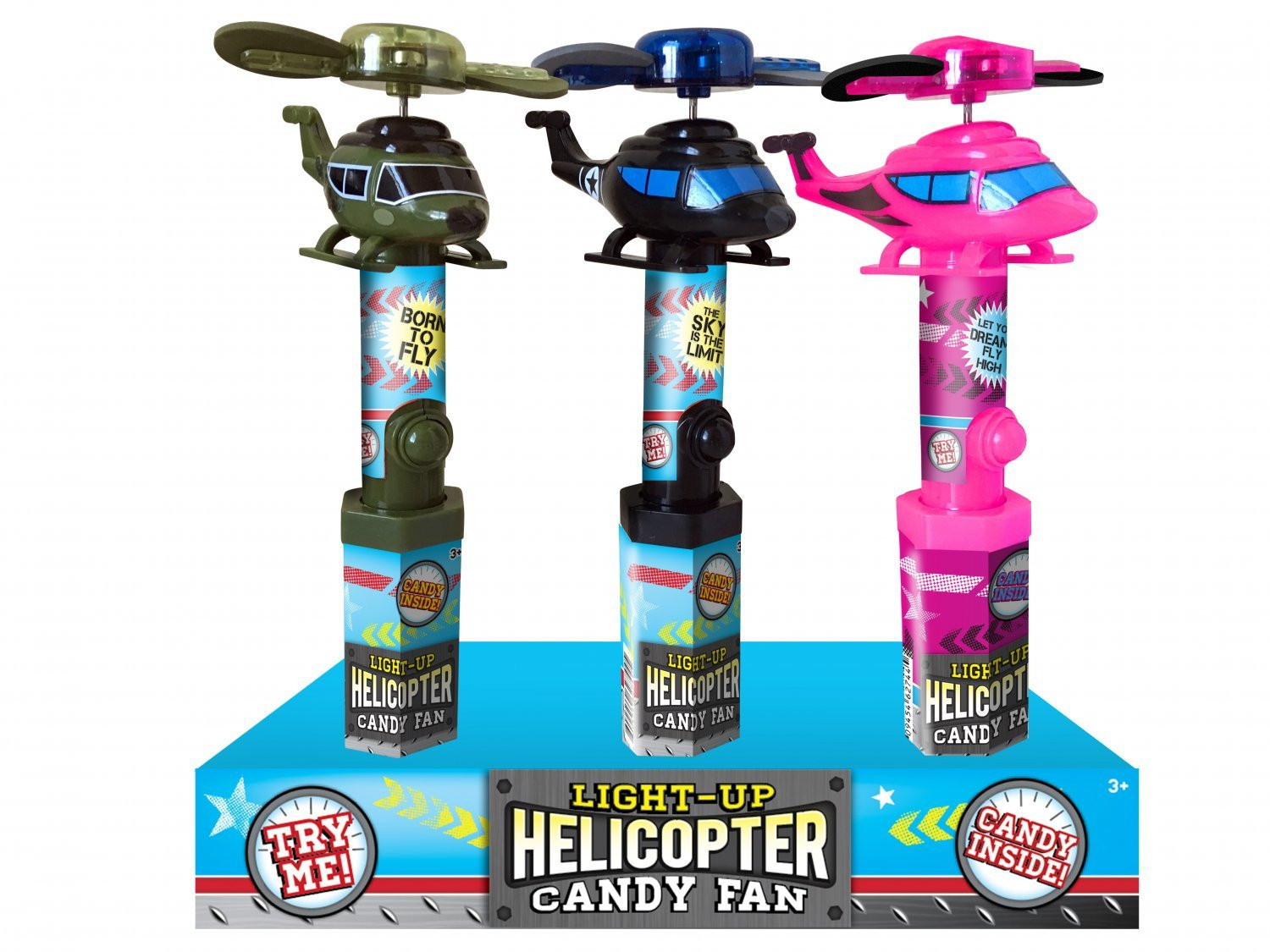 CandyRific  Light Up Helicopter Fan