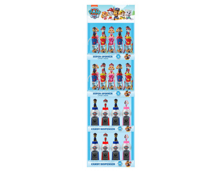 Nickelodeon PAW Patrol™ Christmas Display Panel, 28ct