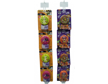 Disney Halloween Safety Light Assorted Clip Strip