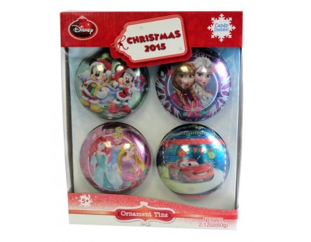 Disney ©Disney Ornament Tin Gift Pack with candy