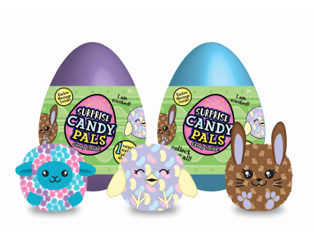 CandyRific  Easter Surprise Candy Pals, Series 1