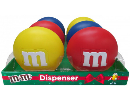 M&M's M&M'S® Christmas Lentil Dispenser, (2) 6ct